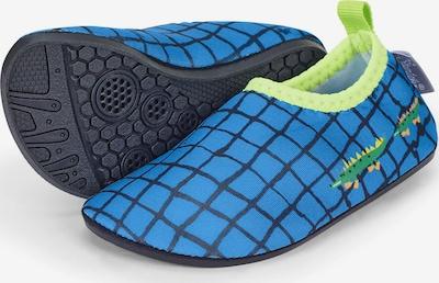 STERNTALER Claquettes / Tongs en bleu / bleu marine / vert / kiwi, Vue avec produit
