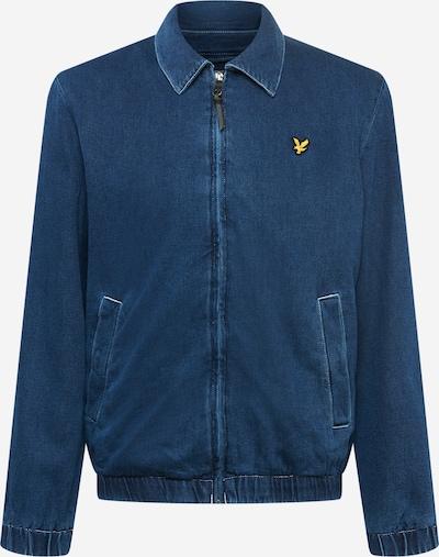 Lyle & Scott Övergångsjacka i blå denim / gul / svart, Produktvy