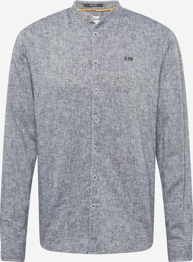 No Excess Hemd in nachtblau / weißmeliert, Produktansicht