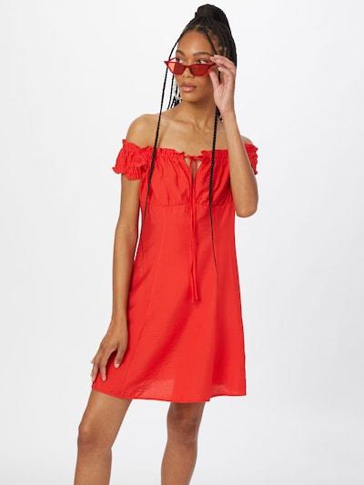 Suknelė 'Luzia' iš SHYX, spalva – raudona, Modelio vaizdas