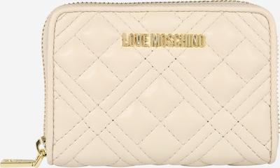 Love Moschino Geldbörse in creme, Produktansicht