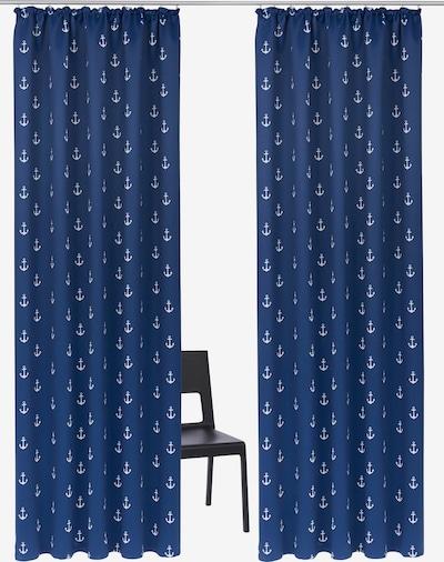MY HOME Vorhang in dunkelblau, Produktansicht