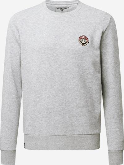JACK & JONES Sweatshirt in graumeliert, Produktansicht
