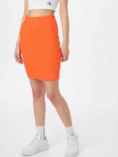 Calvin Klein Jeans Jupe en orange: Vue de face