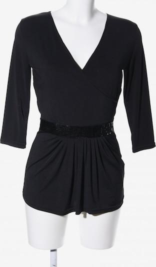 JOACHIM BOSSE V-Ausschnitt-Shirt in S in schwarz, Produktansicht