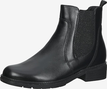JANA Chelsea Boots in Schwarz