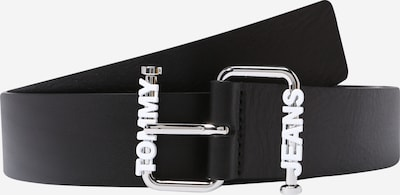 Tommy Jeans Pas | črna barva: Frontalni pogled