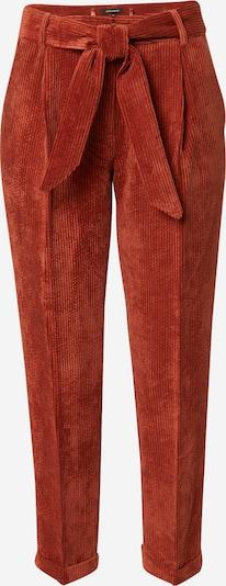 MORE & MORE Pleat-Front Pants in Lobster, Item view