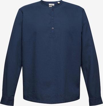EDC BY ESPRIT Shirt in Blau