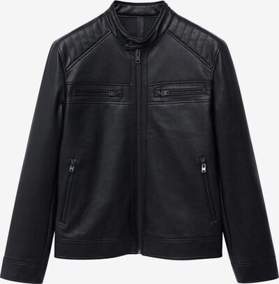 MANGO MAN Tussenjas in de kleur Zwart, Productweergave