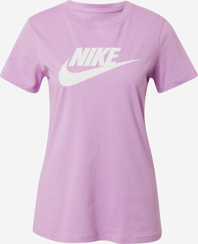 Nike Sportswear Shirt 'FUTURA' in mauve / weiß: Frontalansicht