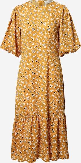Louche Kleid 'Zeyneb Petal Dot' in senf / schwarz / weiß, Produktansicht