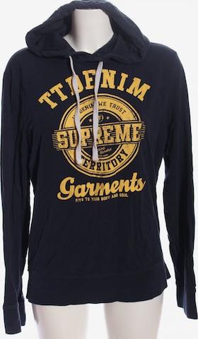 H&M Sweatshirt & Zip-Up Hoodie in L in Blue