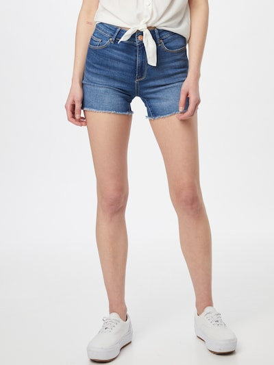 ONLY Vaquero 'Blush' en azul denim, Vista del modelo