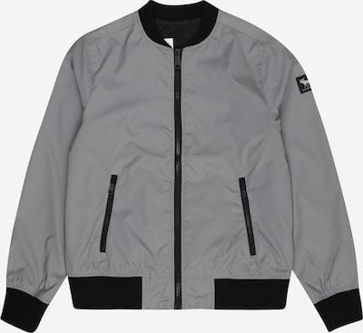 Abercrombie & Fitch Jacke in grau / schwarz, Produktansicht