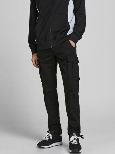JACK & JONES Cargohose 'Drake' in schwarz, Modelansicht