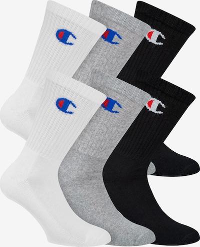 Champion Authentic Athletic Apparel Socken 6-Pack ' Legacy ' in grau / schwarz / weiß, Produktansicht