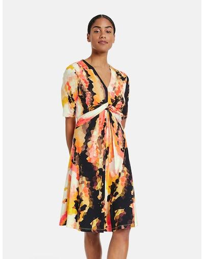 TAIFUN Kleid in mischfarben / schwarz, Modelansicht