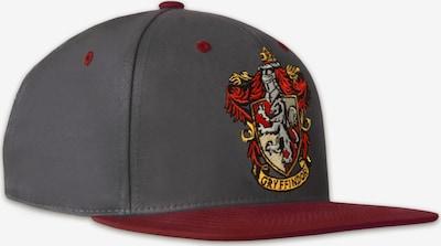 LOGOSHIRT Snapback-Cap 'Harry Potter Gryffindor' in grau, Produktansicht