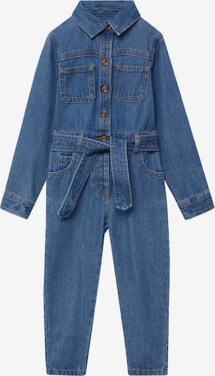 MANGO KIDS Overall in blue denim, Produktansicht