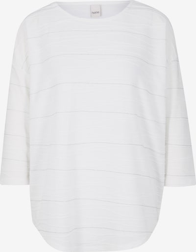 Tricou heine pe argintiu / alb, Vizualizare produs
