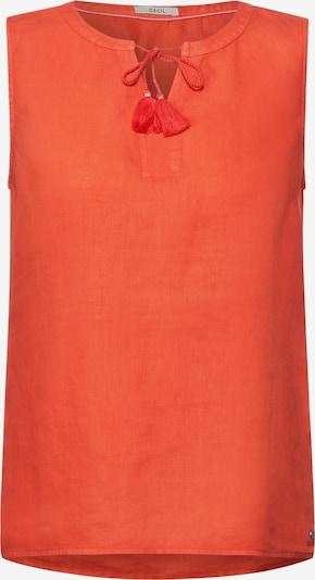CECIL Blusentop in orange, Produktansicht