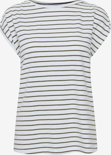 b.young T-Shirt in grün / weiß, Produktansicht