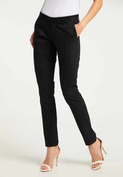 DreiMaster Klassik Hose in schwarz, Modelansicht