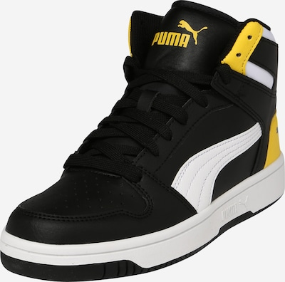 PUMA Sportovní boty 'Rebound Layup' - žlutá / černá / bílá, Produkt