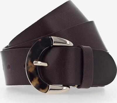 b.belt Handmade in Germany Ceinture en marron / brun foncé, Vue avec produit