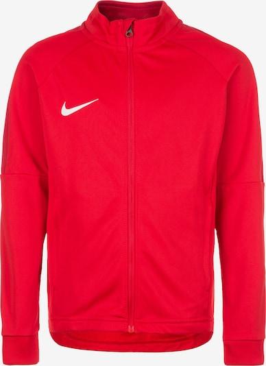 NIKE Trainingsjacke in rot / weiß, Produktansicht