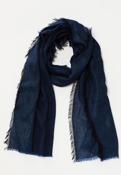 Young Couture by BARBARA SCHWARZER Schal in blau, Produktansicht
