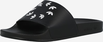 ADIDAS ORIGINALS Adilette in schwarz, Produktansicht