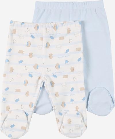 Leggings OVS di colore blu cielo / blu chiaro / marrone chiaro / bianco, Visualizzazione prodotti