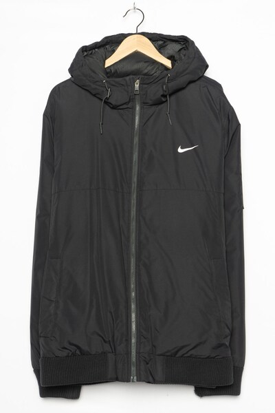 NIKE Winterjacke in L-XL in schwarz, Produktansicht