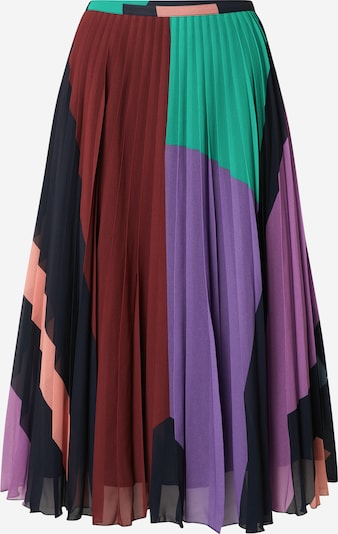 Essentiel Antwerp Skirt 'Zalerie' in Dark blue / Jade / Light purple / Peach / Dark red, Item view