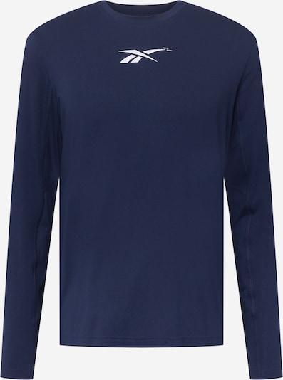 Reebok Sport Funktionshirt in marine / weiß, Produktansicht