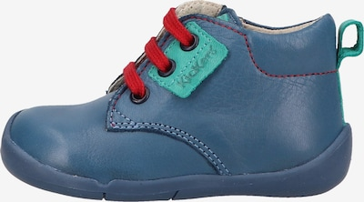 KICKERS Schuh in blau / rot, Produktansicht