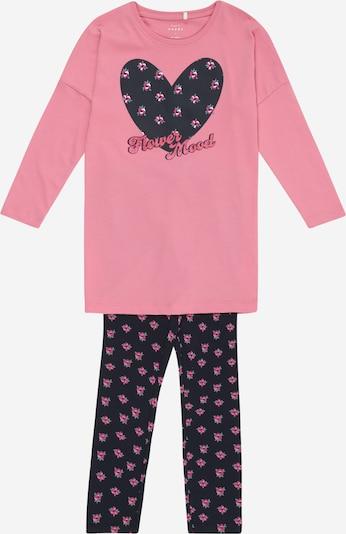 NAME IT Shirt und Hose 'Victoria' in blau / rosa, Produktansicht
