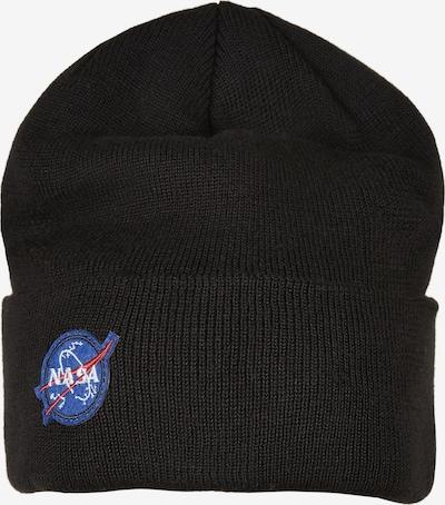 Mister Tee Mütze 'NASA Embroidery' in blau / rot / schwarz / weiß, Produktansicht