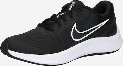 NIKE Sportschuh 'Star Runner 3' in schwarz / weiß, Produktansicht