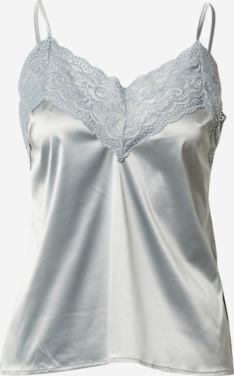 NA-KD Overdel 'lace singlet' i grå, Produktvisning