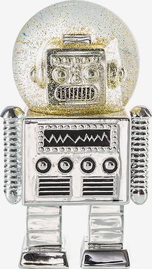 DONKEY PRODUCTS Dekofigur 'The Robot' in Gold / Black / Silver, Item view