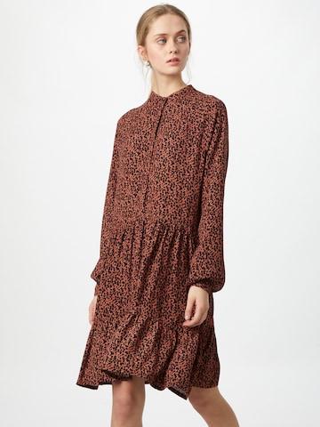 mbym Shirt Dress 'Marra' in Orange