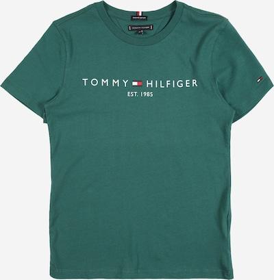 TOMMY HILFIGER T-Shirt in marine / grün / hellrot / weiß, Produktansicht
