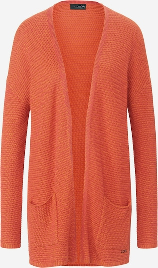 Looxent Strickjacke in orangerot, Produktansicht