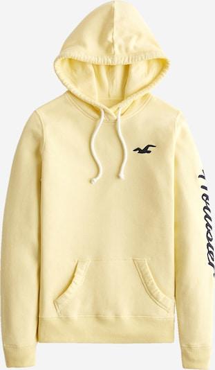 HOLLISTER Sweat-shirt en bleu nuit / jaune clair, Vue avec produit