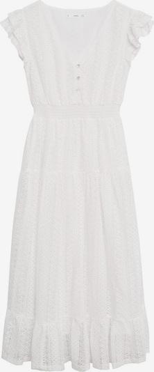 MANGO Kleid 'Madelen' in weißmeliert, Produktansicht
