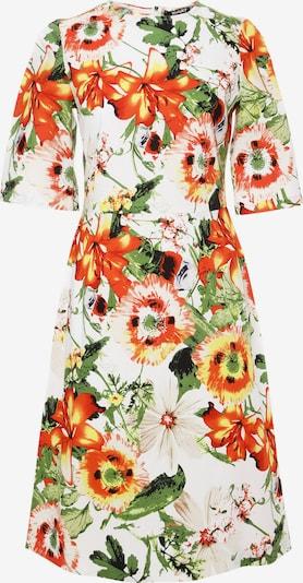 Madam-T Sommerkleid 'Sanata' in beige / gelb / apfel / orange / weiß, Produktansicht