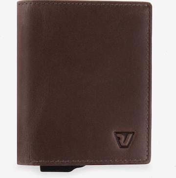 Roncato Kreditkartenetui in Braun